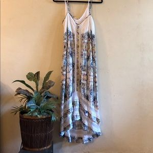 Festival boho maxi with hi/low hem GUC M.